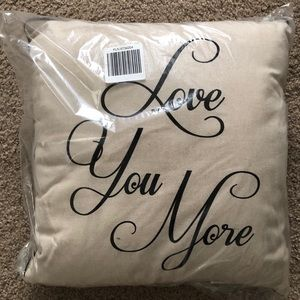 Other - NWT throw pillow